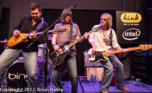 Pat Travers Band in the Bing Lounge
